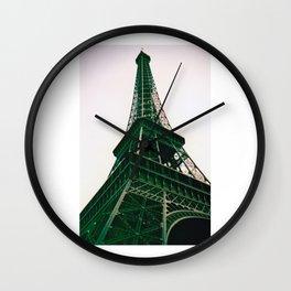 La Tour Eiffel // Eiffel Tower (v2) Wall Clock