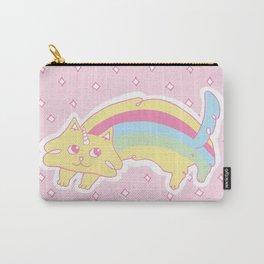 Rainbow Caticorn Carry-All Pouch