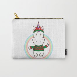 winter unicorn Carry-All Pouch