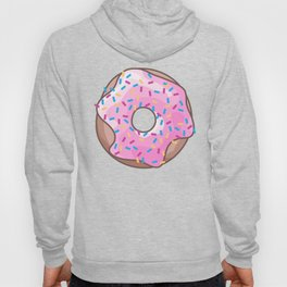 Pink Strawberry Donut Hoody