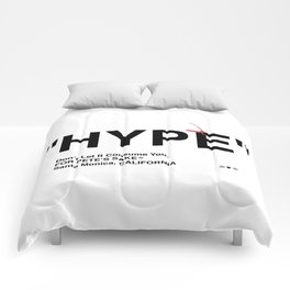"""""""HYPE"""" Comforters"""