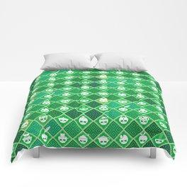 The Nik-Nak Bros. Veggie Greene Comforters