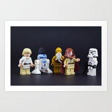 Not the droids Art Print