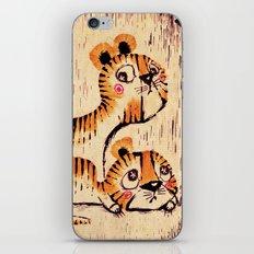 Two Little Tigers iPhone & iPod Skin