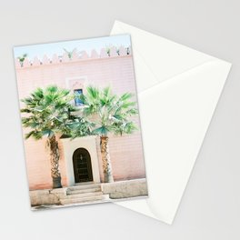 """Travel photography print """"Magical Marrakech"""" photo art made in Morocco. Pastel colored. Stationery Cards"""