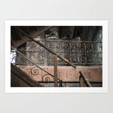 Brew House stairs Art Print