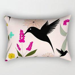 Hummingbirds Paradise Rectangular Pillow