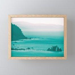 West Coast Dawn Fog Framed Mini Art Print