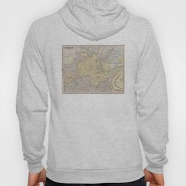 Vintage Map of Edinburgh Scotland (1901) Hoody