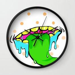 saliva&gunk Wall Clock