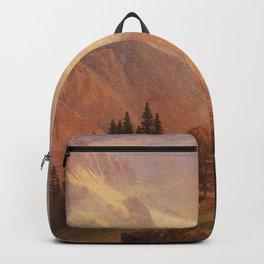 Albert Bierstadt - View of the Grindelwald Backpack