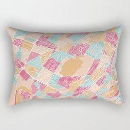Montreal map, Canada Rectangular Pillow