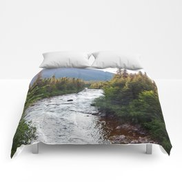 Mountain Fresh Winding River Comforters