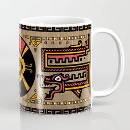 Colorful Hunab Ku Mayan symbol #5 Coffee Mug