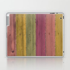 Colorful Wood Grain Laptop & iPad Skin
