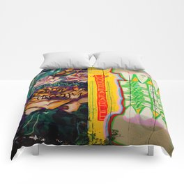 Old Roses -  Unbreakable Dream - Society Crunch Comforters