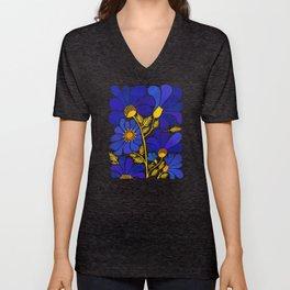 The Happiest Flowers Unisex V-Neck
