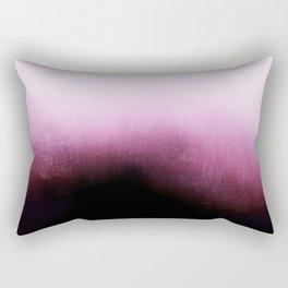Surrender - Mulberry Purple Ombré Rectangular Pillow