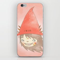 PAULLY POTTER - LICENSED WIZARD iPhone & iPod Skin