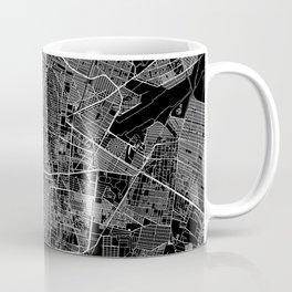 Mexico City Black Map Coffee Mug