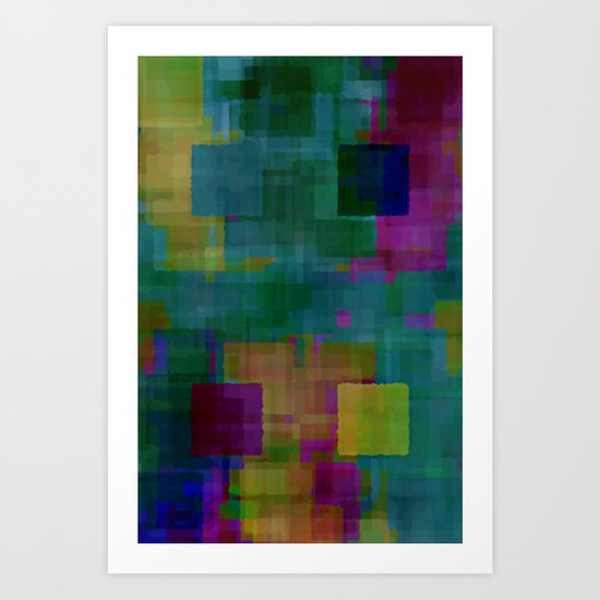 Digital#5 Art Print