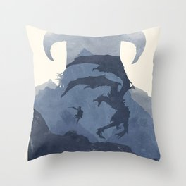 Skyrim (II) Throw Pillow