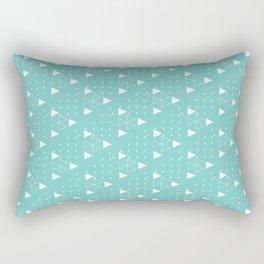 triangels and dots Rectangular Pillow