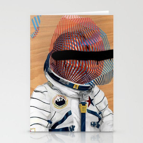 Spaceman No:2 Stationery Cards