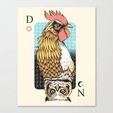 D & N Canvas Print