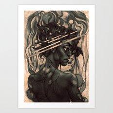 Interference Art Print