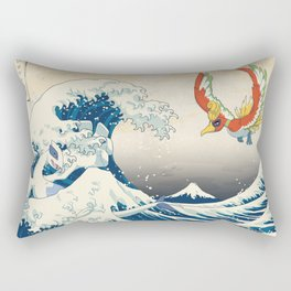 The Great Wave Off the Orange Islands Rectangular Pillow
