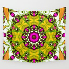 Golden Crown Wall Tapestry