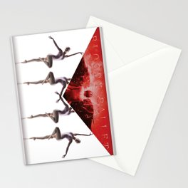 envelope bloody ballet Stationery Cards