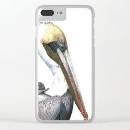 Pelican Portrait Clear iPhone Case