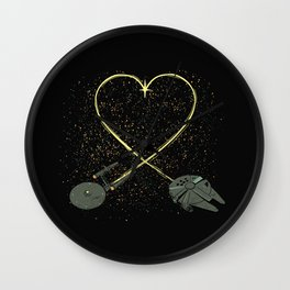 Wars Love Wall Clock