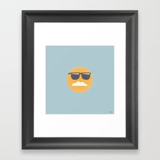 Sun Disguised Framed Art Print