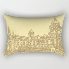 Three Graces (Digital Art) Rectangular Pillow