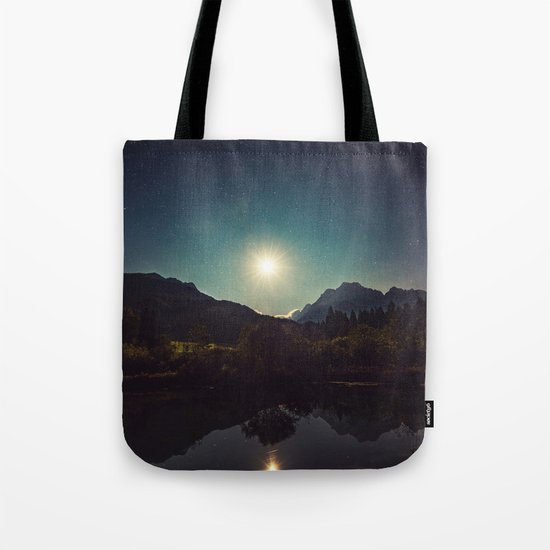 Moonshine, Stars and Nature Tote Bag