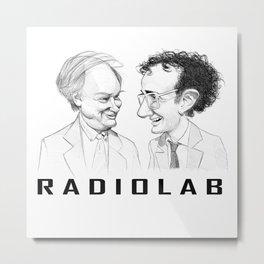 RadioLab with Robert and Jad Metal Print