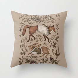 Tricksters Throw Pillow
