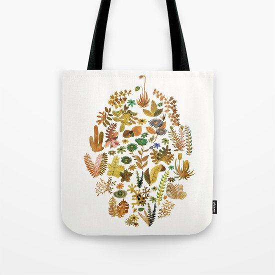 brown nature Tote Bag