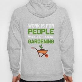 Funny Garden Plant Loving Women Gardener print Hoody