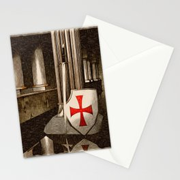 The Lost Templar Stationery Cards