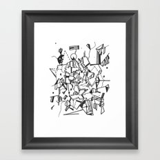 Realm Framed Art Print
