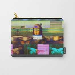 Mona Lisa _corrupt Carry-All Pouch