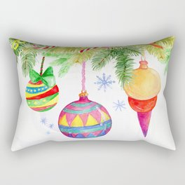 Christmas ornaments Rectangular Pillow