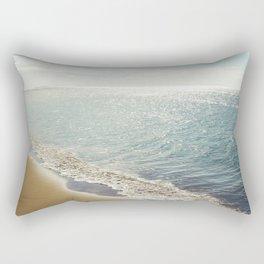 beauty and the beach Rectangular Pillow
