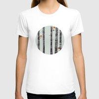robin T-shirts featuring Robin Trees by Sandra Dieckmann