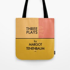 Three Plays By Margot Tenenbaum Tote Bag