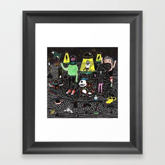 buenos deseos Framed Art Print